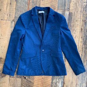 H&M Boys Blazer Blue 12-13Y